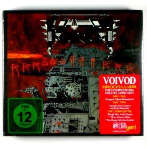 VOIVOD rrroooaaarrr - deluxe CD CD