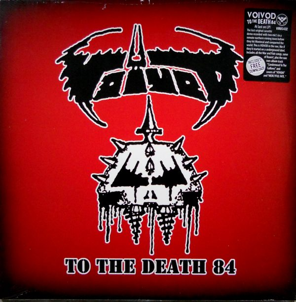voivod to the death lp