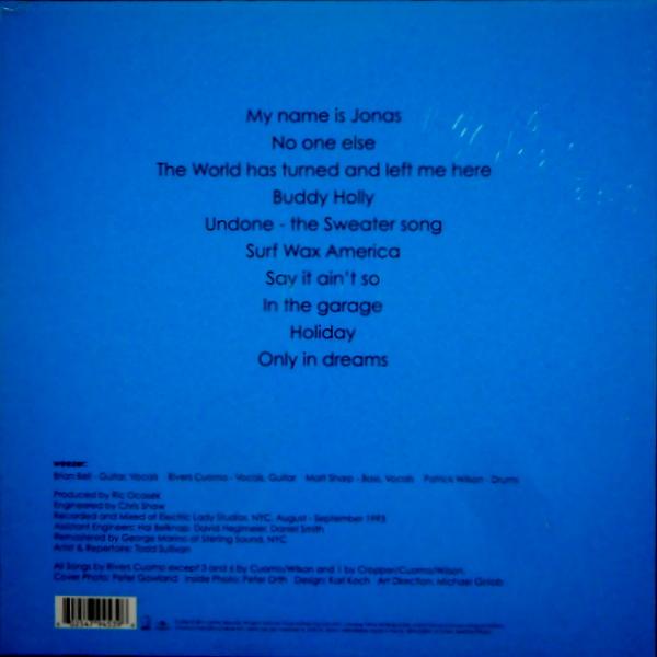 WEEZER weezer - blue album LP