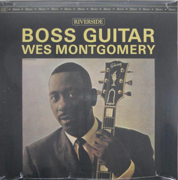 MONTGOMERY, WES boss guitar LP