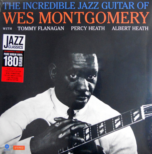 MONTGOMERY, WES the incredible jazz guitar of LP