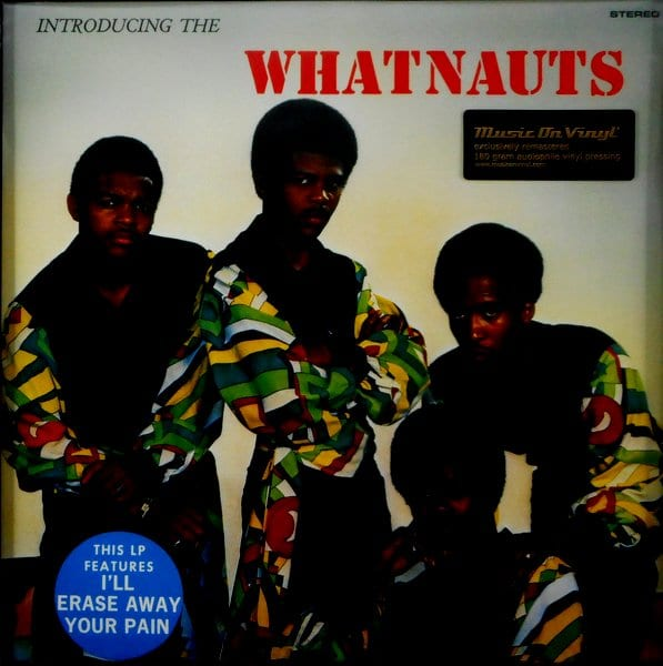WHATNAUTS, THE introducing the whatnauts LP