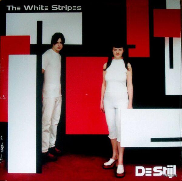 white stripes de stijl usa LP
