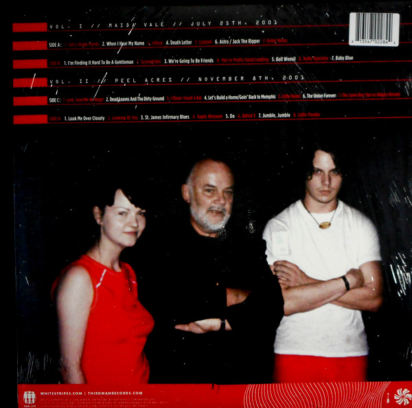 WHITE STRIPES, THE the complete john peel sessions - col vinyl LP