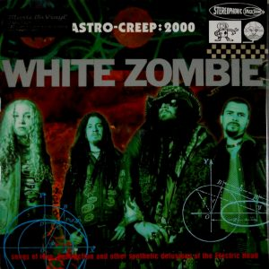 white zombie astro creep lp