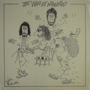 WHO, THE by numbers LP