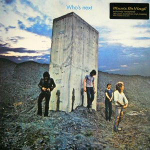 WHO, THE who's next LP