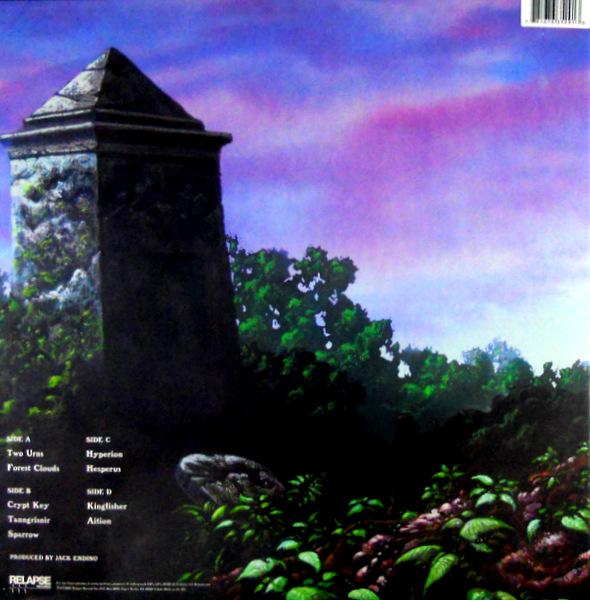WINDHAND grief's infernal flower LP back