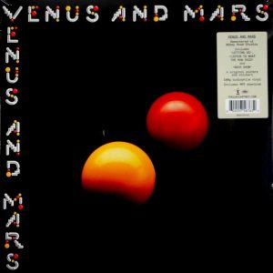 WINGS (PAUL McCARTNEY) venus and mars LP