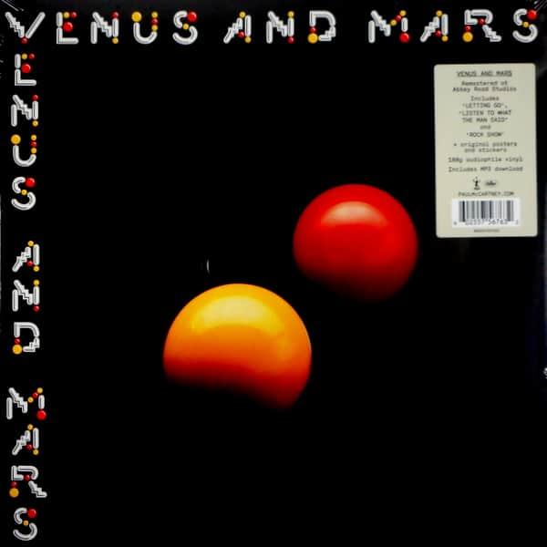 WINGS (PAUL McCARTNEY) venus and mars LP