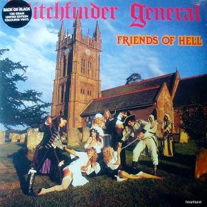 witchfinder general friends of hell LP
