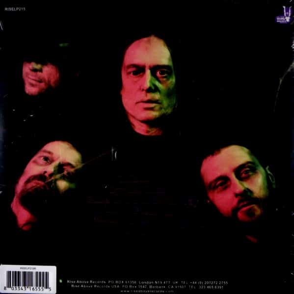WITH THE DEAD love from with the dead - gold col vinyl LP