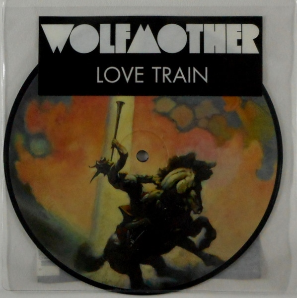 """WOLFMOTHER love train - pic disc 7"""""""