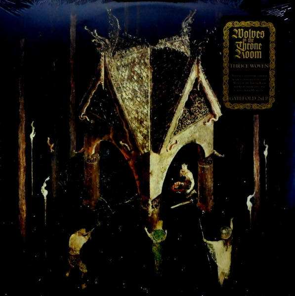 WOLVES IN THE THRONE ROOM thrice woven LP