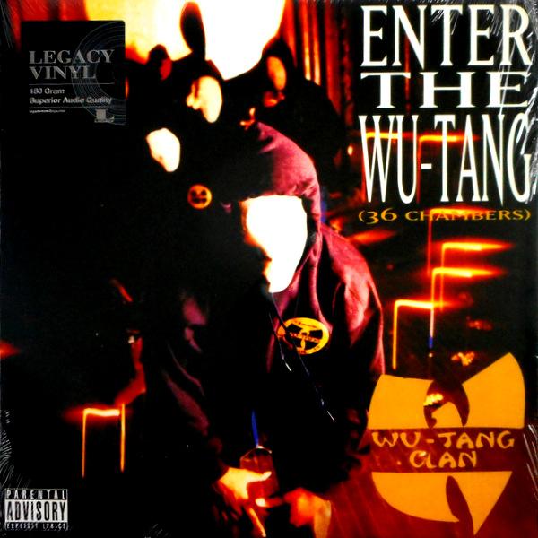 WU-TANG CLAN enter the wu-tang(36 chambers) LP