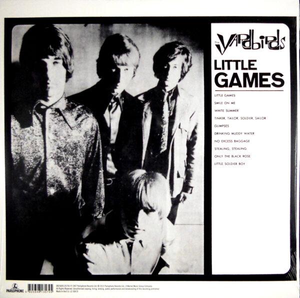 YARDBIRDS, THE little games LP back