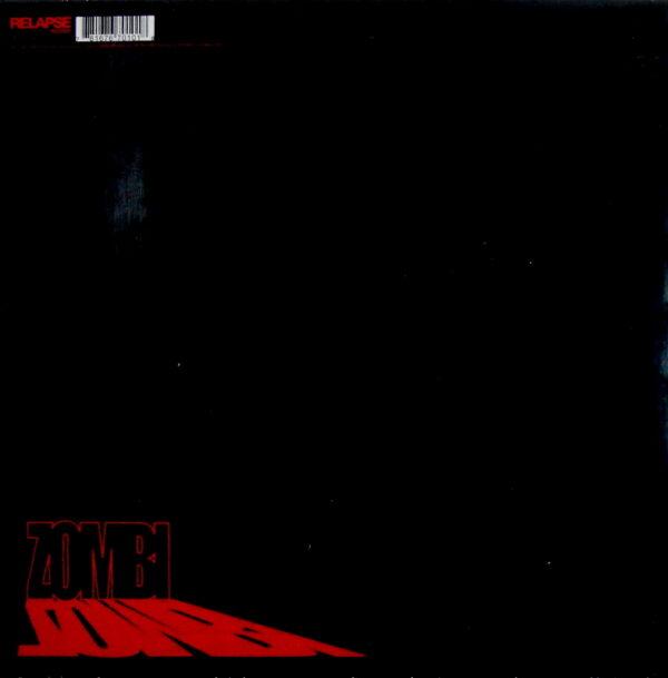 ZOMBI anthology LP back