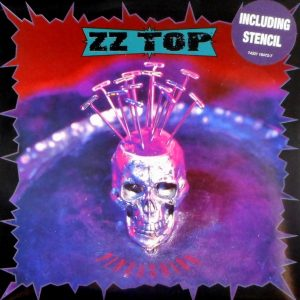 ZZ TOP pincushion - ltd edition single 7""