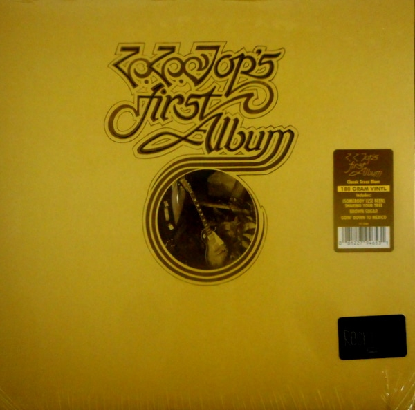 ZZ TOP zz top's first album LP